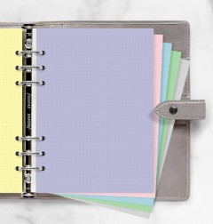 Pastel Dotted Journal A5 Refill