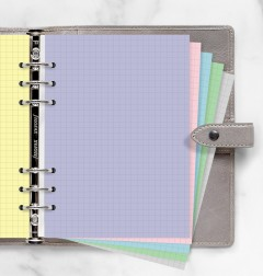 Pastel Squared Notepaper A5 Refill
