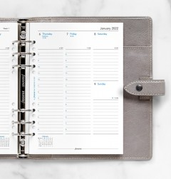Week On Two Pages Diary With Appointments A5 Multifit