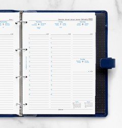 Week On Two Pages Diary With Appointments A4