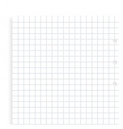 Clipbook Squared Notepaper Refill