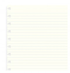 Filofax Notebook A4 Ruled Paper Refill