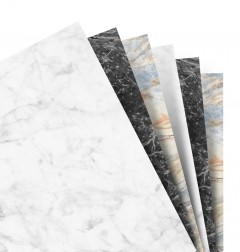 Marble Plain Notepaper A5 Refill