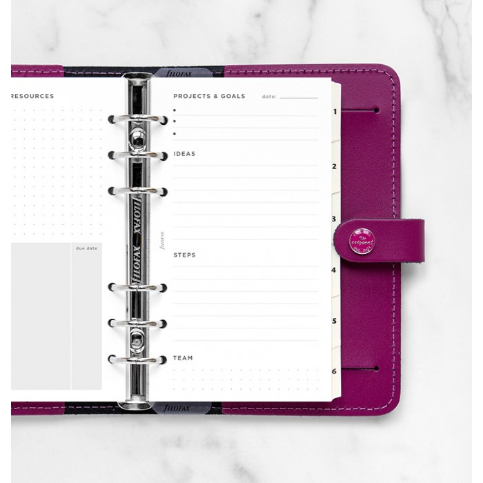 Projects & Goals Tracker Refill - Personal