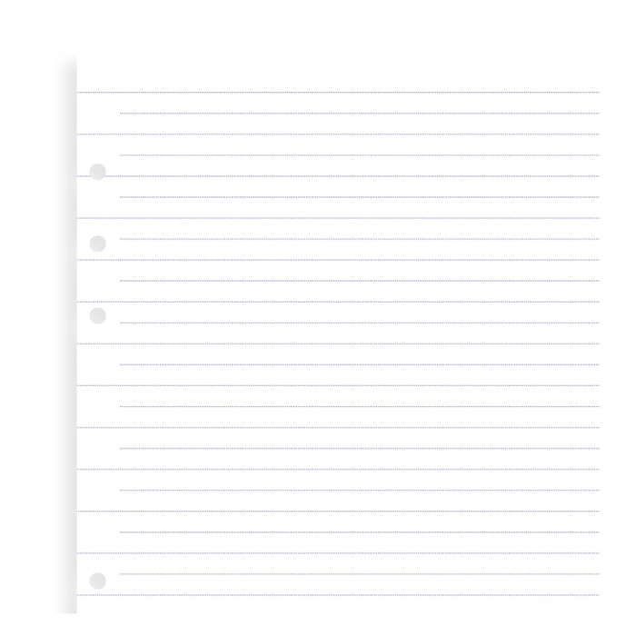 Clipbook A5 Ruled Notepaper Refill
