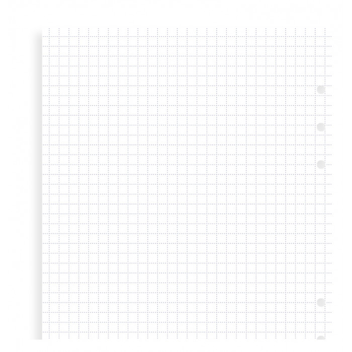 Clipbook A5 Squared Notepaper Refill