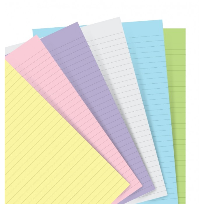 Pastel Ruled Notepaper A5 Refill