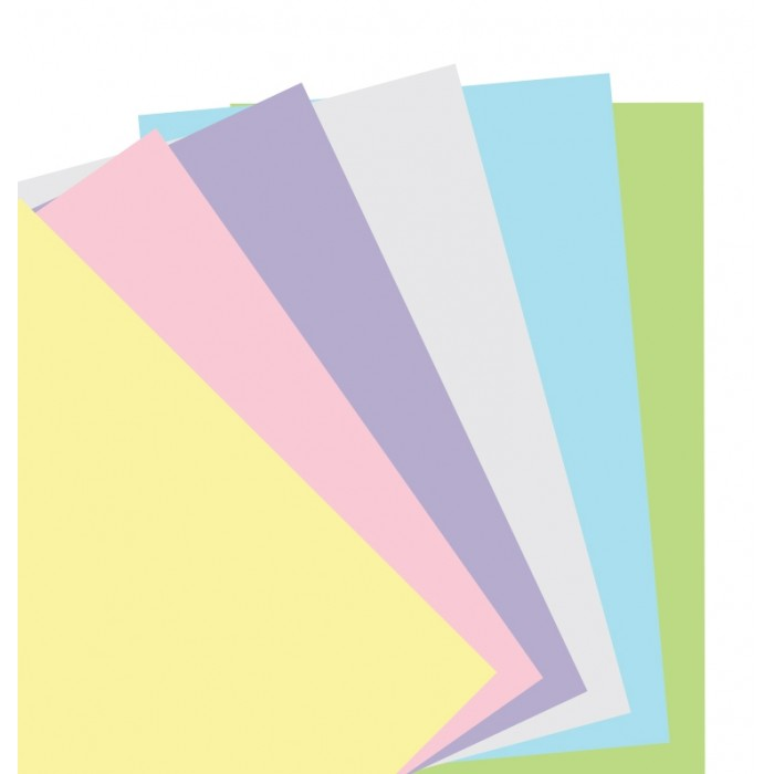 Pastel Plain Notepaper Pocket Refill